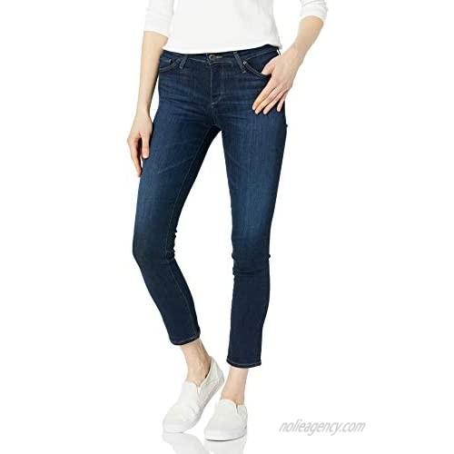 AG Adriano Goldschmied Women's The Prima Mid Rise Cigarette Ankle Leg Jean