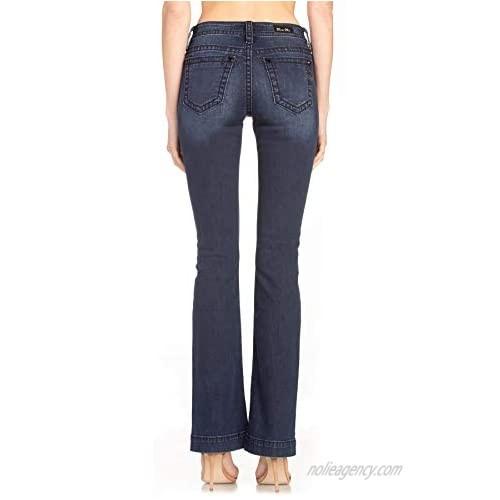 Miss Me Warm Heart Bootcut Jeans