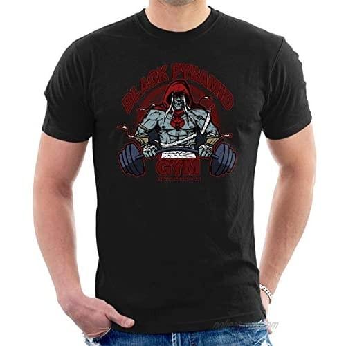 Black Pyramid Gym Mumm Ra Thundercats Men's T-Shirt