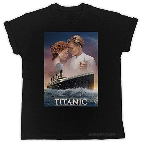 JAMZZY TEE Titanic Movie Poster Funny Gift Designer Unisex T-Shirt