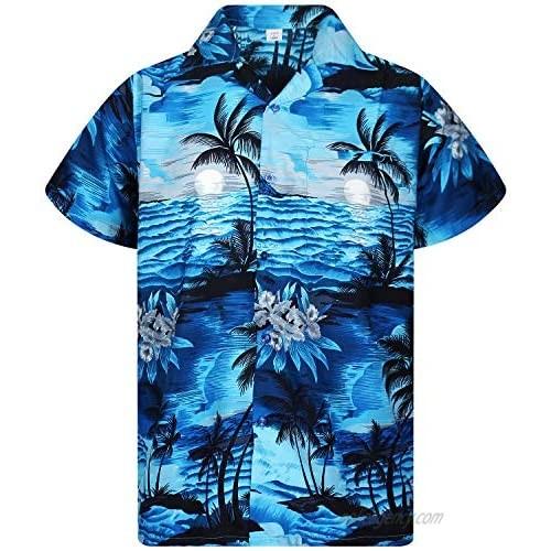 V.H.O. Funky Hawaiian Shirt  Shortsleeve  Surf  Darkturquoise  4XL