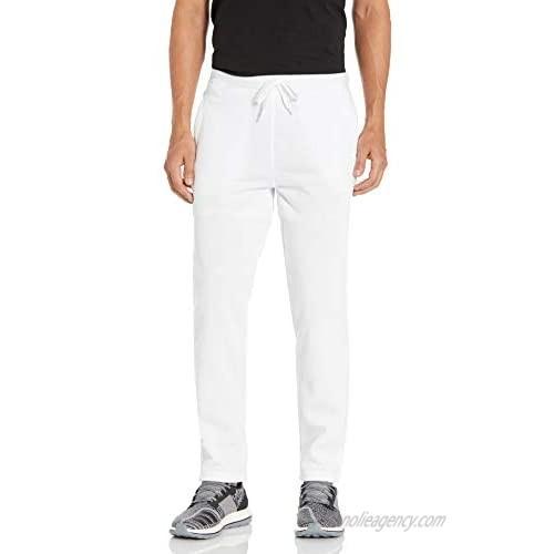 Southpole Men's Basic Active Fleece Jogger Pants  White Open  X-Large