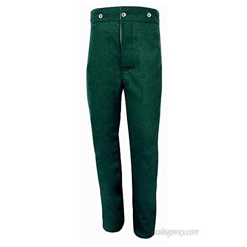 Core Plus US Civil War Union Enlisted Mounted Navy Blue/Sky Blue/Green/White Plain Wool Pants