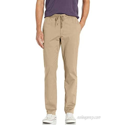 Goodthreads Men's Straight-Fit Washed Chino Drawstring Pant