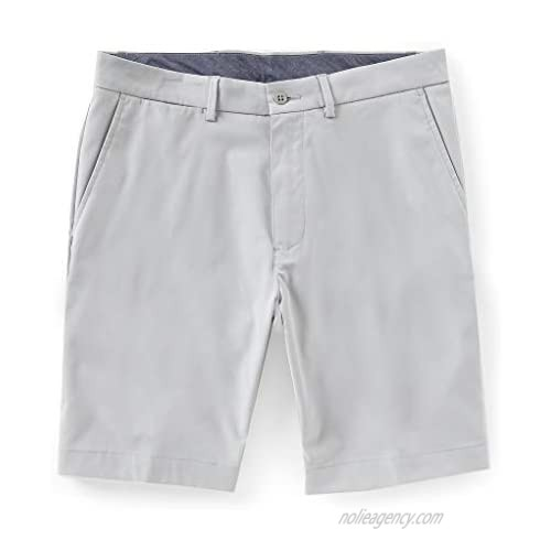 Cremieux Atwood Solid Performance Flat-Front Shorts